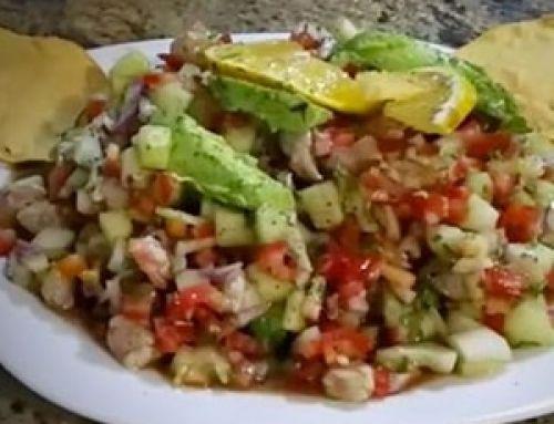 Ceviche de Camarón Estilo Sinaloa