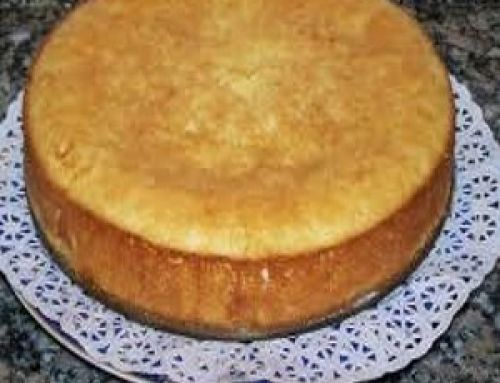 Torta de Limón y Yogurt