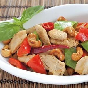 Tepanyaki de Verduras con Pollo